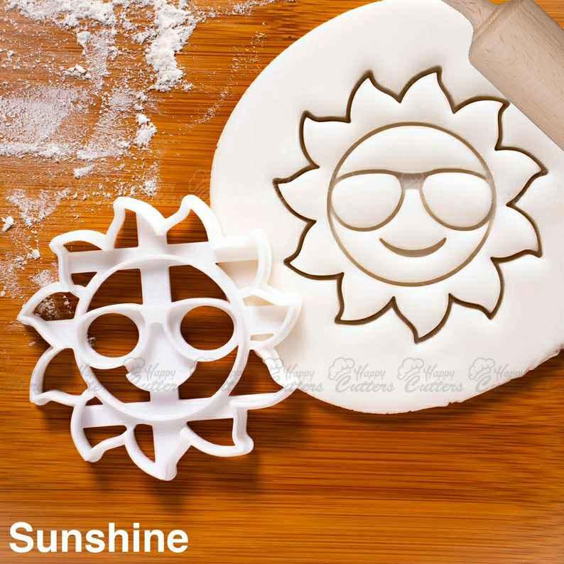 Happy Sun Cookie Cutter