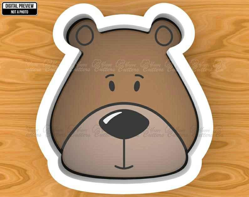 Woodland Bear Cookie Cutter