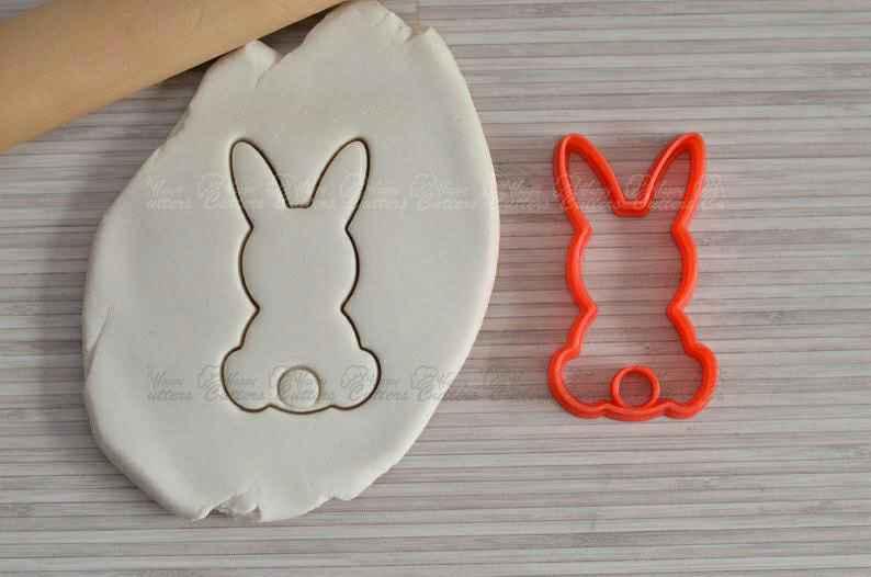 Bunny cookie cutter Easter bunny cookie cutter Easter cookie cutter