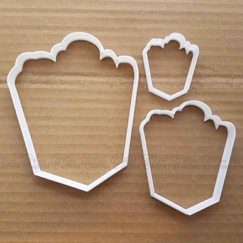 Bell Ribbon Xmas Shape Cookie Cutter Dough Biscuit Pastry Sharp Christmas Holy