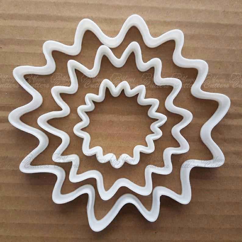 Splash cookie cutter