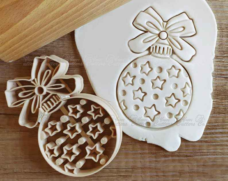 Pastry Biscuit Fondant Cutter Snowman Cookie Cutter set of 2