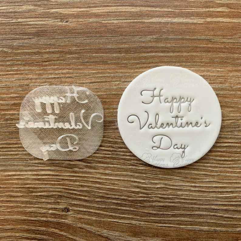 Valentines Day LOVE Fondant Stamp Embosser